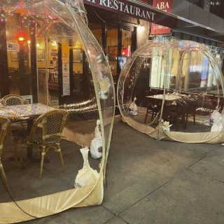 Winter Enclosure  #restaurant #winter #turkishfood #turkishrestaurant #nyc #newyork #foodies